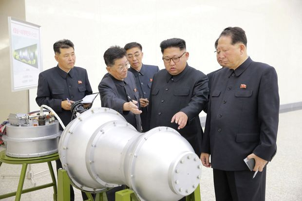 Le dictateur nord-coréen sur une photo diffusée dimanche.