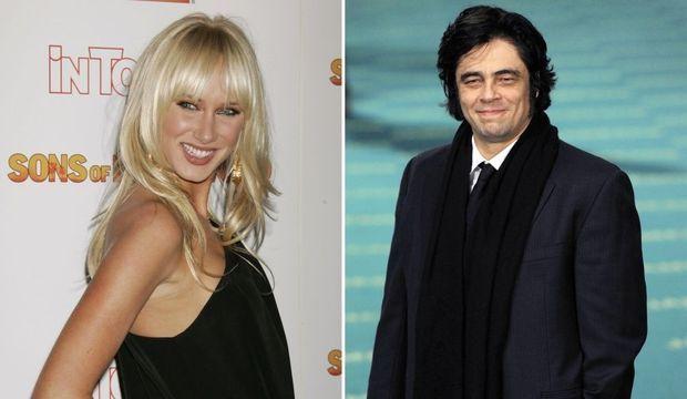 Kimberley Stuart Benicio del Toro-