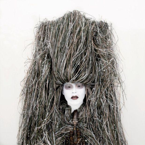 Self-portrait de Kimiko Yoshida, 2010.