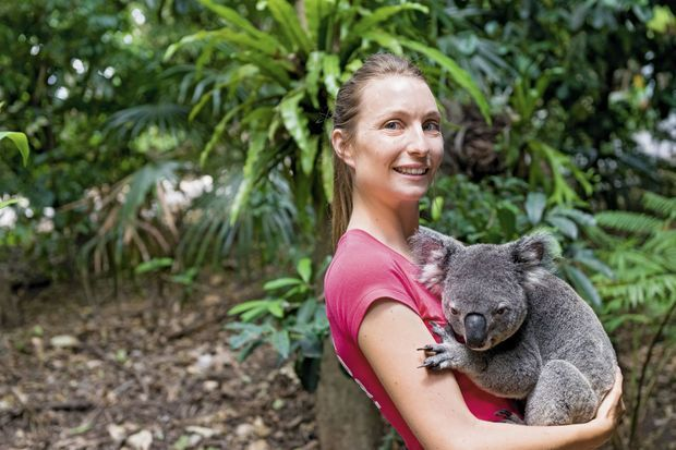 Dans les «Best rencontres» du blog d'Elisa, la rencontre avec les marsupiaux, dans le sanctuaire pour koalas du parc de Lone Pine.