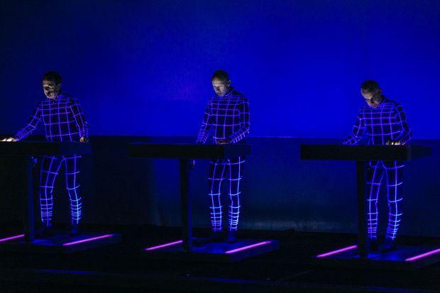 Kraftwerk, à Paris
