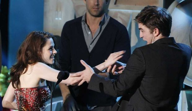 Kristen Stewart et Robert Pattinson -