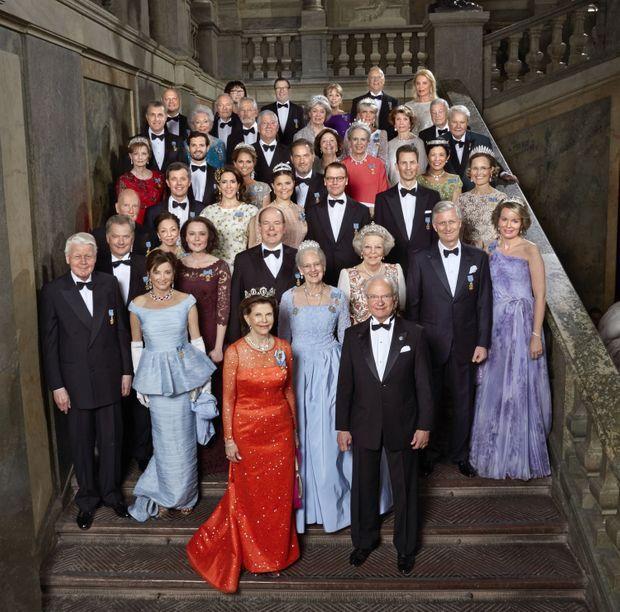 La photo officielle des 70 ans du roi Carl XVI Gustaf de Suède