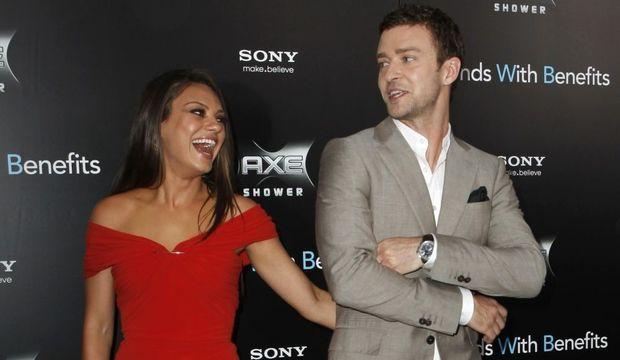 Kunis Timberlake-