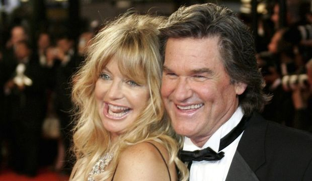 Kurt Russell et Goldie Hawn-