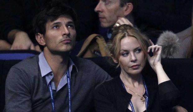 Kylie Minogue et Andres Velencoso -
