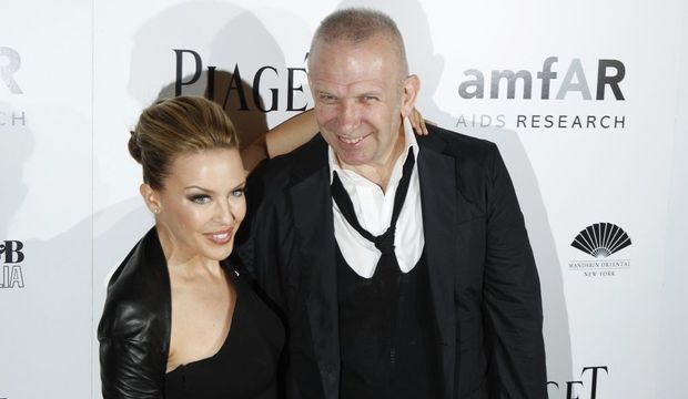 Kylie Minogue et Jean Paul Gaultier-