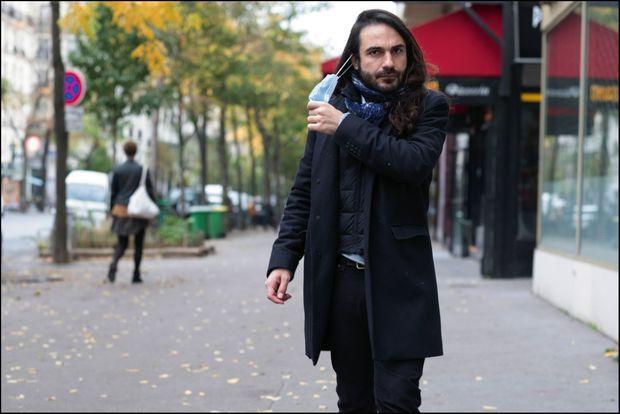 Kyris Eracleous, 35 ans, coiffeur. A Paris, le 30 octobre. Il a échappé de justesse à l'embolie pulmonaire.