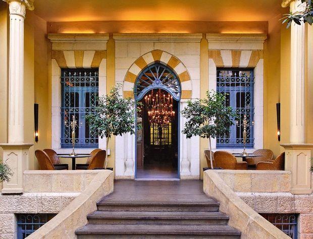 Unique Relais & Châteaux du Liban, l'Albergo est une institution.