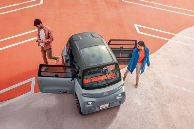 L'Ami-100 % électric, son patronyme complet, entend surtout démocratiser l'usage du véhicule électrique.