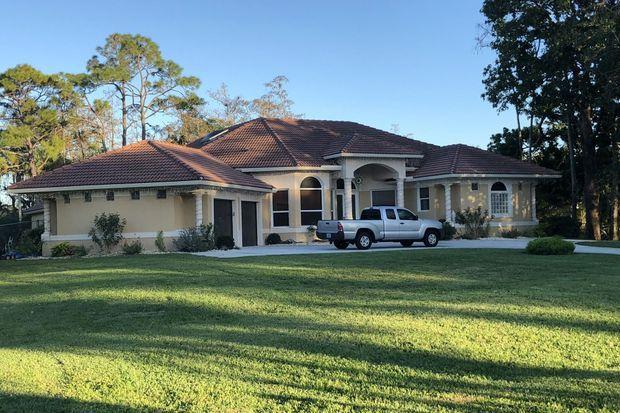 L'ancienne maison du tueur de Floride, vendue en 2017.