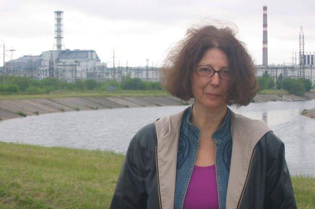 L'auteure du livre, Galia Ackerman