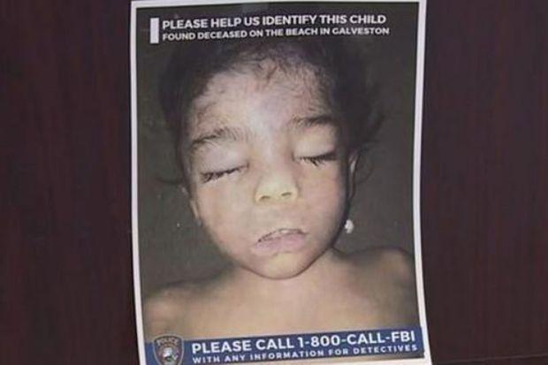 L'enfant a été retrouvé il y a trois mois au Texas.