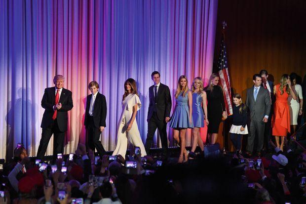 L'entrée en scène de la « Trump Family »