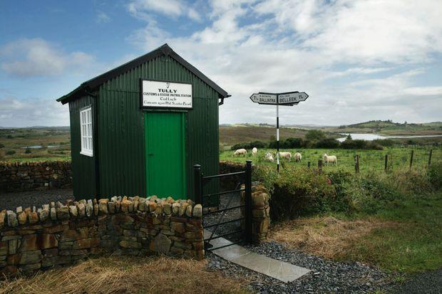 L'ex-poste de douane Tully, dans le comté de Donegal. Construite vers 1930, cette curiosité figure aujourd'hui dans les guides touristiques.