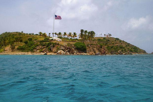 L'île privée de Jeffrey Epstein, Little St. James, où des scientifiques de renom ont été ses invités.
