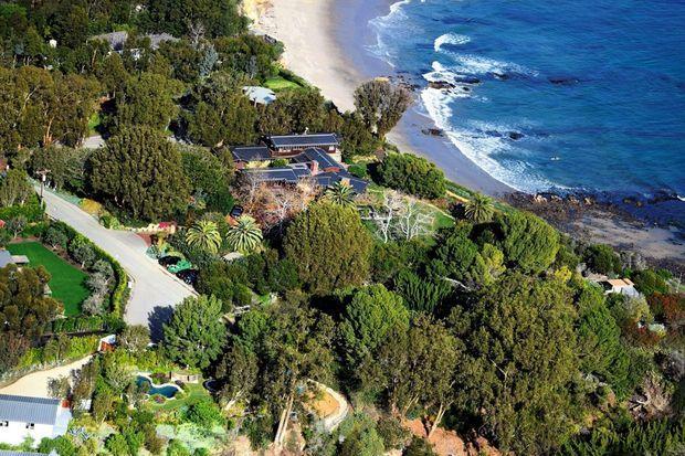 L'immense manoir familial de Malibu
