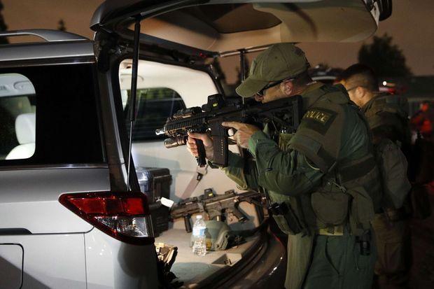 L'opération policière a eu lieu mercredi dans la nuit à Los Angeles.