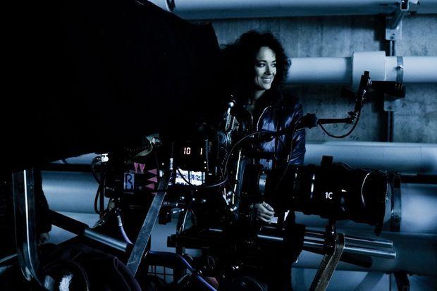 "Carmen Chaplin réalisatrice du film ""The Innovators""."