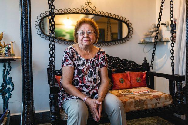 La bienfaitrice Zelma Lazarus est une célébrité dans le pays.