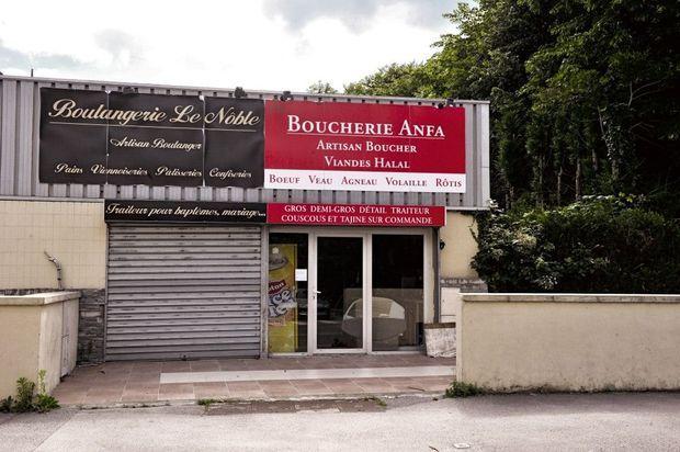 La boucherie Anfa (nom d'un quartier de Casablanca) de la famille Touloub à Villers-Cotterêts (Aisne).