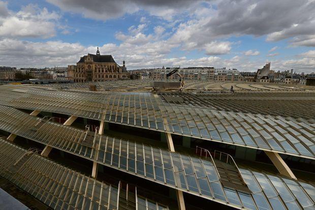 La canopée du nouveau Forum des Halles signé Unibail-Rodamco