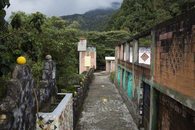 La Catedral : l'ex-prison était le lieu de débauche d'Escobar et de ses « sicarios ».