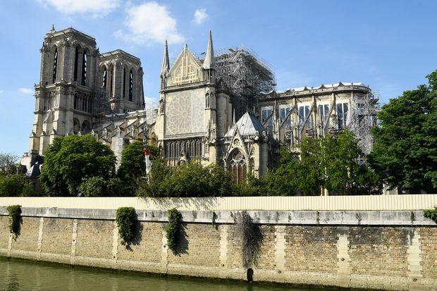 La cathédrale Notre-Dame de Paris, le 31 mai.