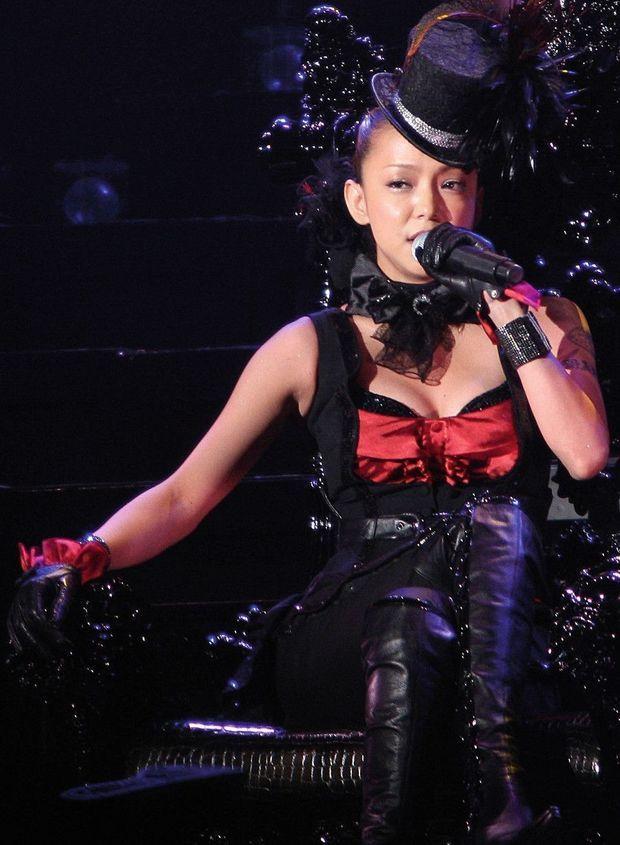 La chanteuse Namie Amuro en 2009.