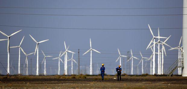La Chine dispose de la plus grande puissance éolienne sur Terre
