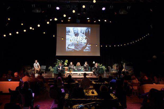 La conférence de presse pour le dernier album de Johnny Hallyday a eu lieu lundi.