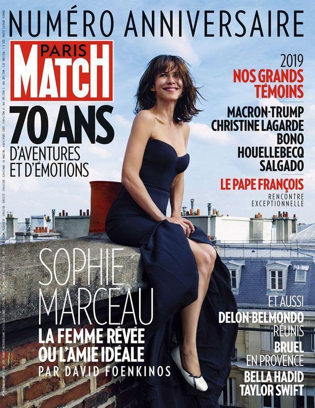 La couverture de Paris Match n°3657, un numéro anniversaire exceptionnel.