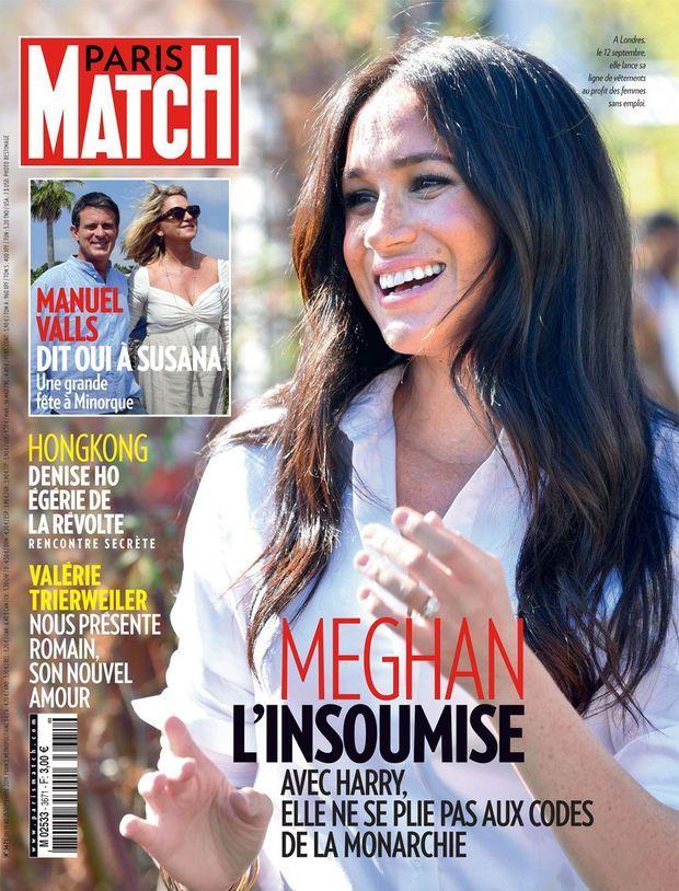 La couverture de Paris Match numéro 3671.