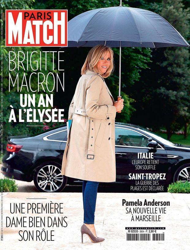 La couverture du numéro 3604 de Paris Match.