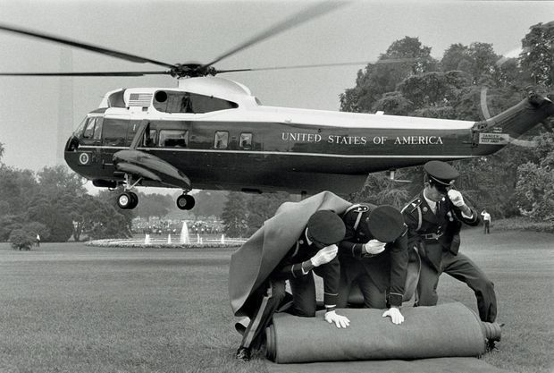 La démission de Nixon, Washington DC, 8 août 1974.