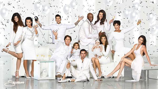 La famille Kardashian au complet