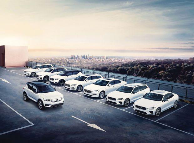 La gamme Volvo est en phase d'électrification intensive, à l'image du SUV XC40 (ci-dessus), dont la version 100 % électrique revendique 400 kilomètres d'autonomie.