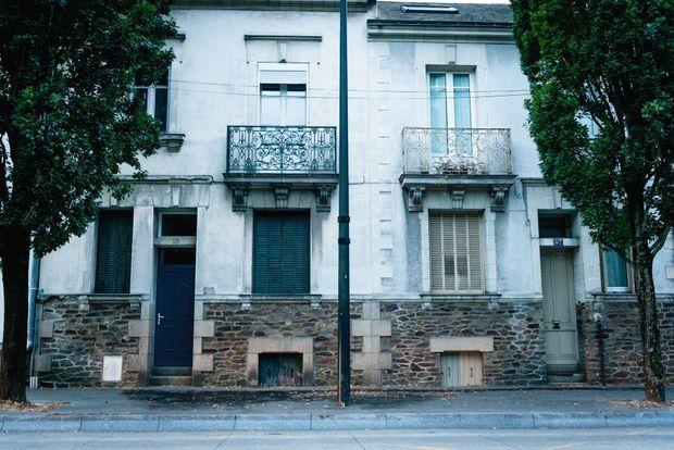 La maison de l'horreur au 55 boulevard Robert-Schuman, à Nantes.