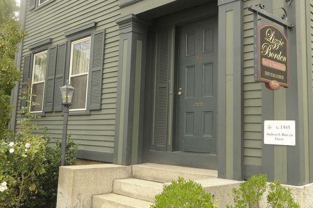 La maison où les Borden ont été tués, située non loin de celle aujourd'hui mise en vente, où Lizzie a fini sa vie.