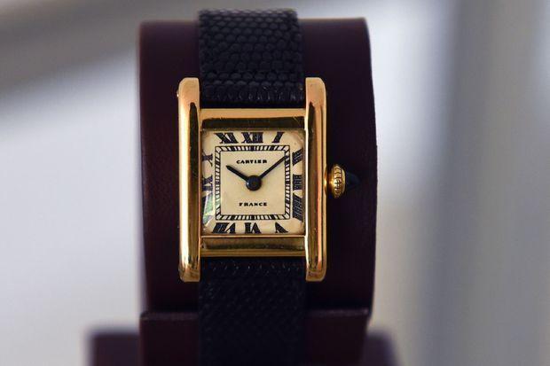 La montre ayant appartenu à Jackie Kennedy.