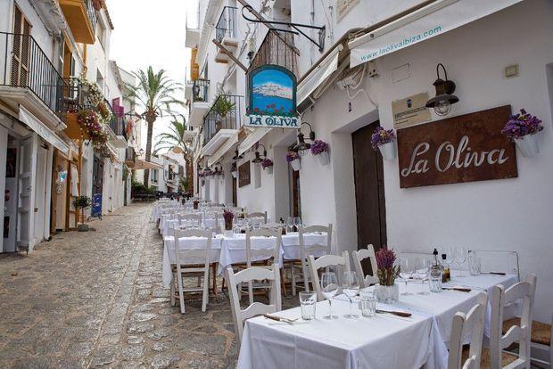 La Oliva. « L'un des meilleurs restaurants du coin. »