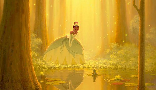 La princesse et la grenouille-