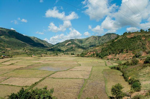 La région de Moramanga, à l'est de Tananarive.
