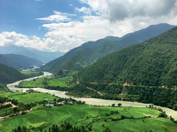 La rivière Mo Chhu