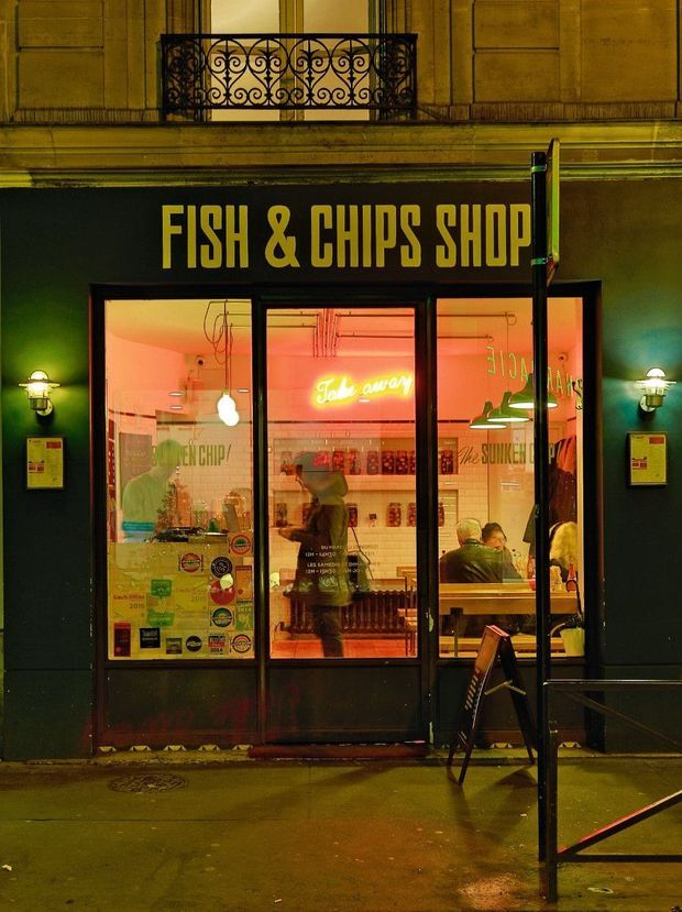 La Sunken Chip, premier fish and chips de Paris.