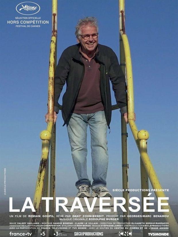 """L'affiche de """"La Traversée""""."""