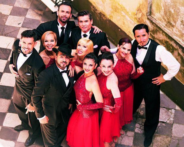 La troupe de Pasion Tango
