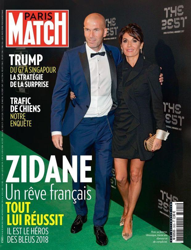 La Une de Paris Match n°3605, en kiosques jeudi.