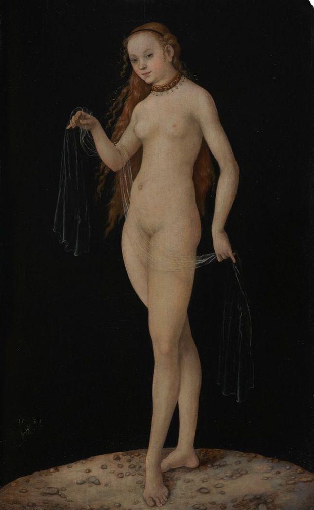 La Vénus qui a fait tomber Ruffini « VÉNUS », DE CRANACH L'ANCIEN (VERS 1531) Le clou de la collection du prince de Liechtenstein : le tableau par qui le scandale arrive.