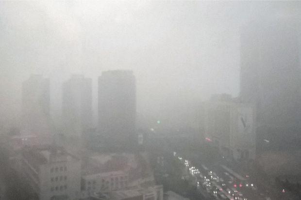 La vue d'une chambre à Pékin.